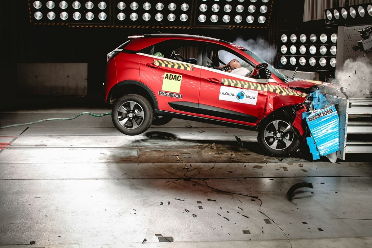 Tata Nexon scores five stars in Global NCAP ratings