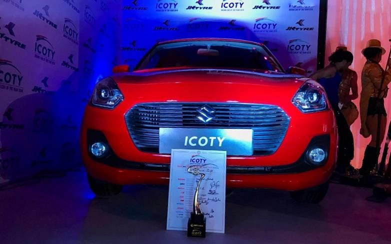 ICOTY 2019: Maruti Suzuki Swift bags the top honors for the third time