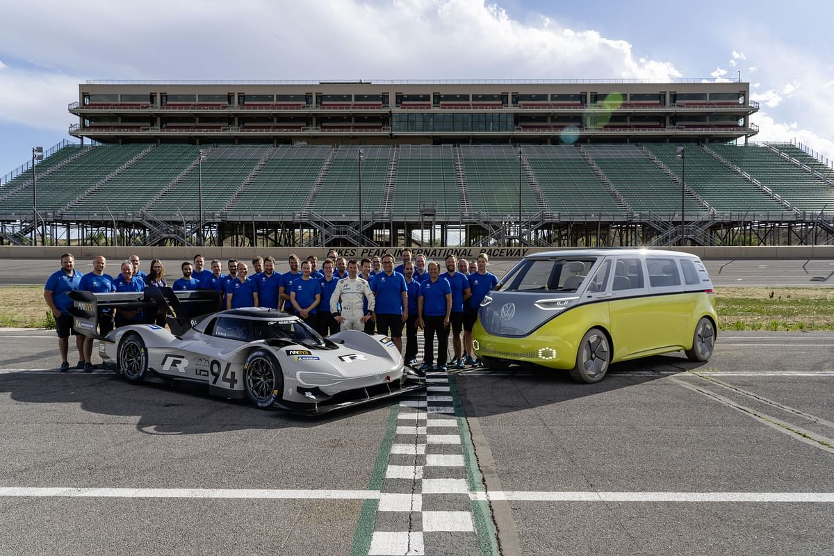 Volkswagen aims for an electric record at the Nürburgring-Nordschleife