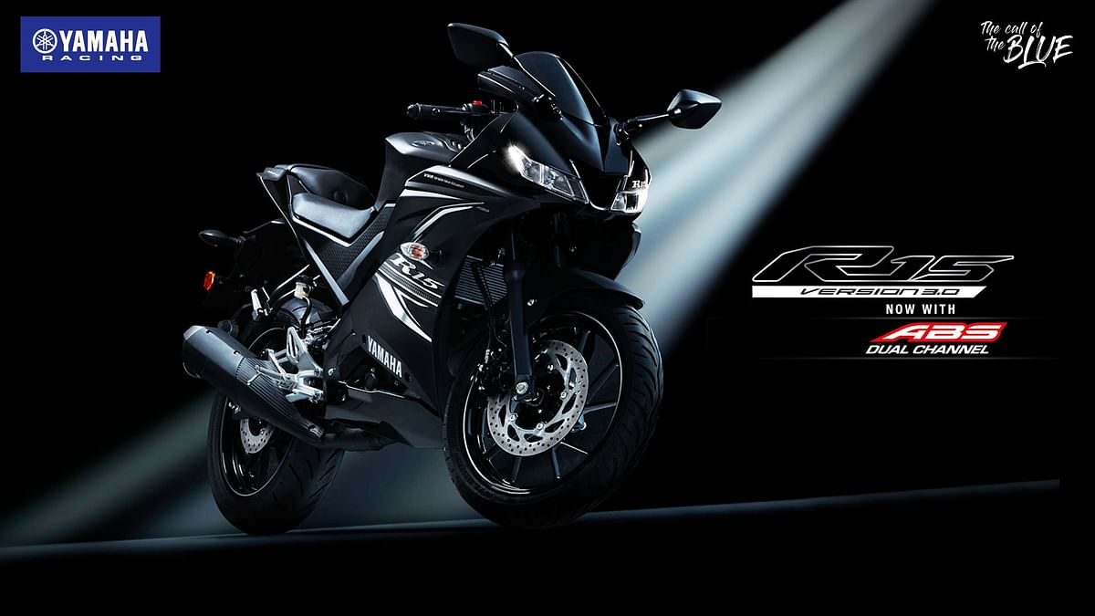 Yamaha YZF-R15 gets dual channel ABS