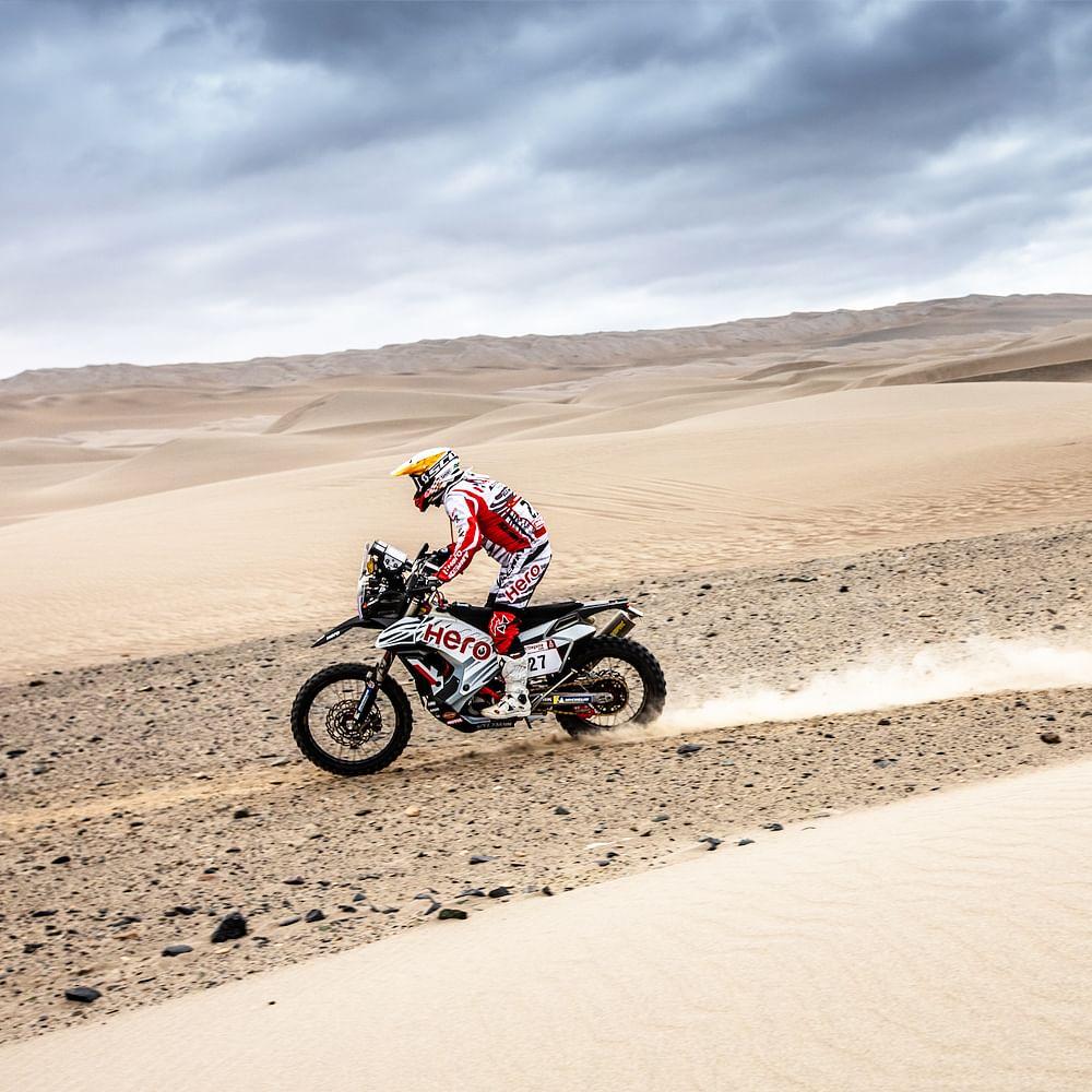 Dakar 2019, stage 6: Hero MotoSports' Mena on a high