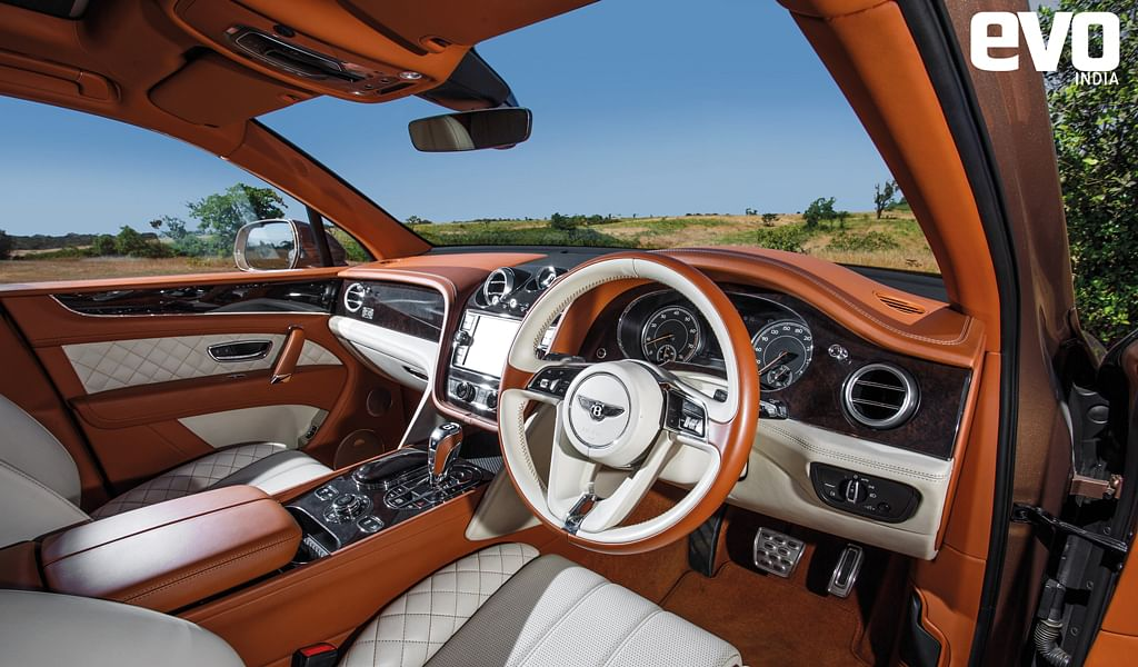 You can have two crore rupees worth of just personalisation on the Bentley Bentayga