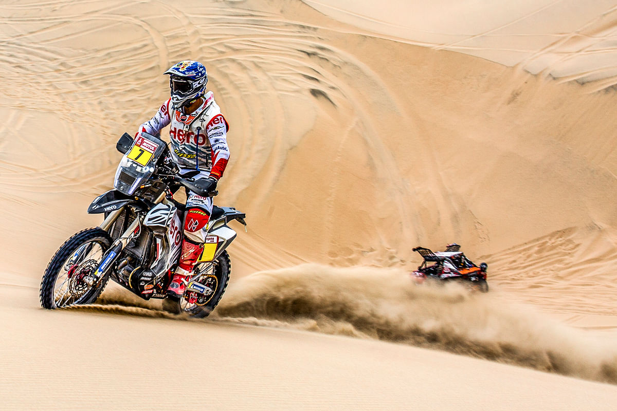 Dakar 2019, stage 5: CS Santosh crashes out of the rally