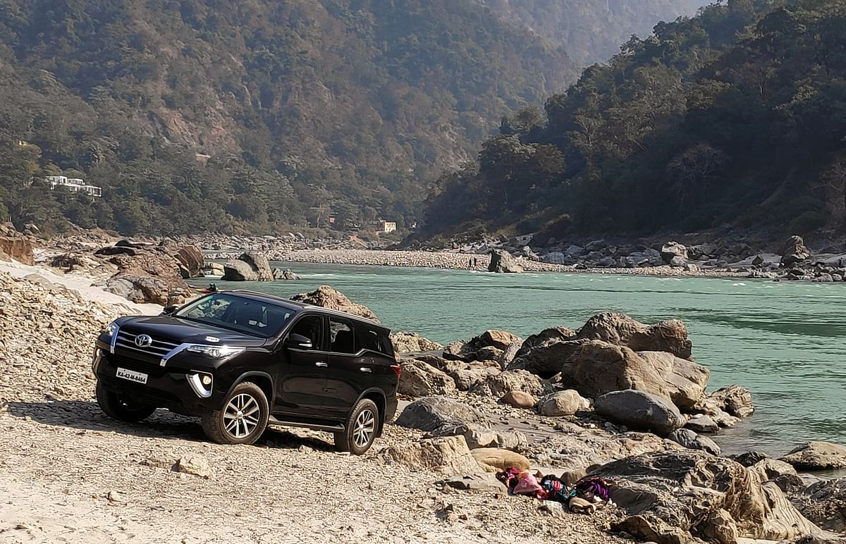 Toyota River Drive: Enjoying Haridwar and Rishikesh's beauty on day three with the Toyota Fortuner