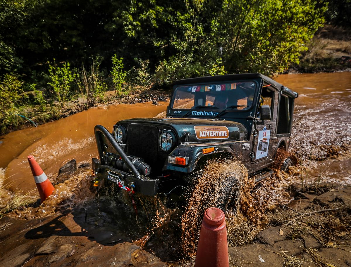Mahindra Great Escape – Offroading trophy Lonavala