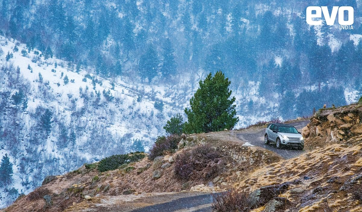 Land Rover Discovery Sport- Exploring India's Rubicon