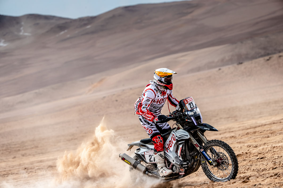 Dakar 2019 stage 4: Oriol Mena holds his ground, CS Santosh drops to 44th