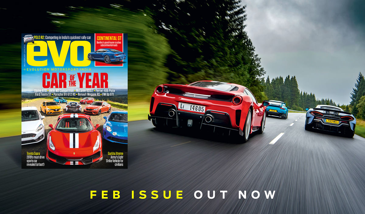 evo India February 2019 issue – On stands now!