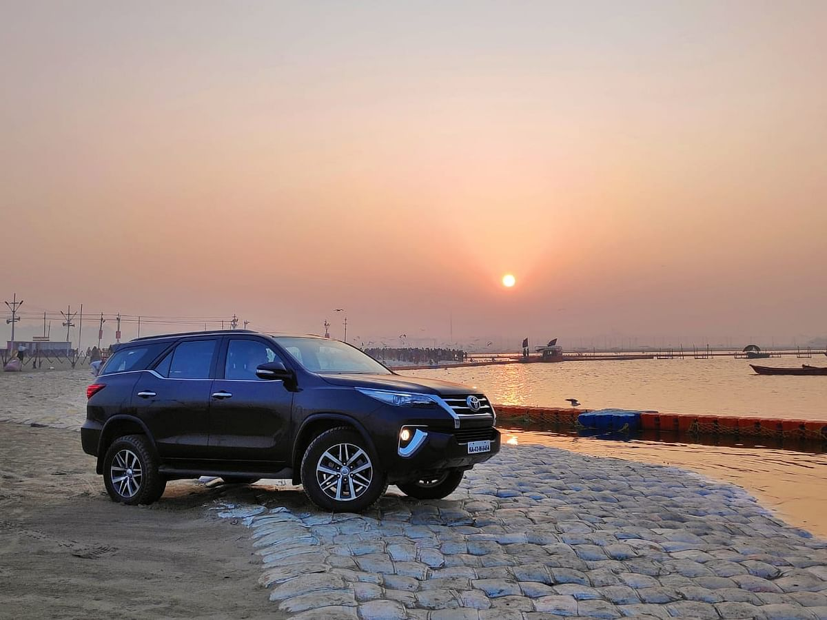 Kumbh Mela 2019: Kicking off the fourth edition of the Toyota River Drive with the Fortuner