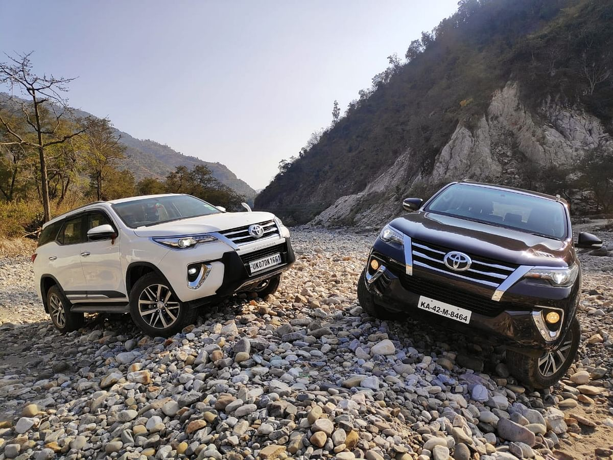 Toyota River Drive: Off-roading with the Toyota Fortuner on day four