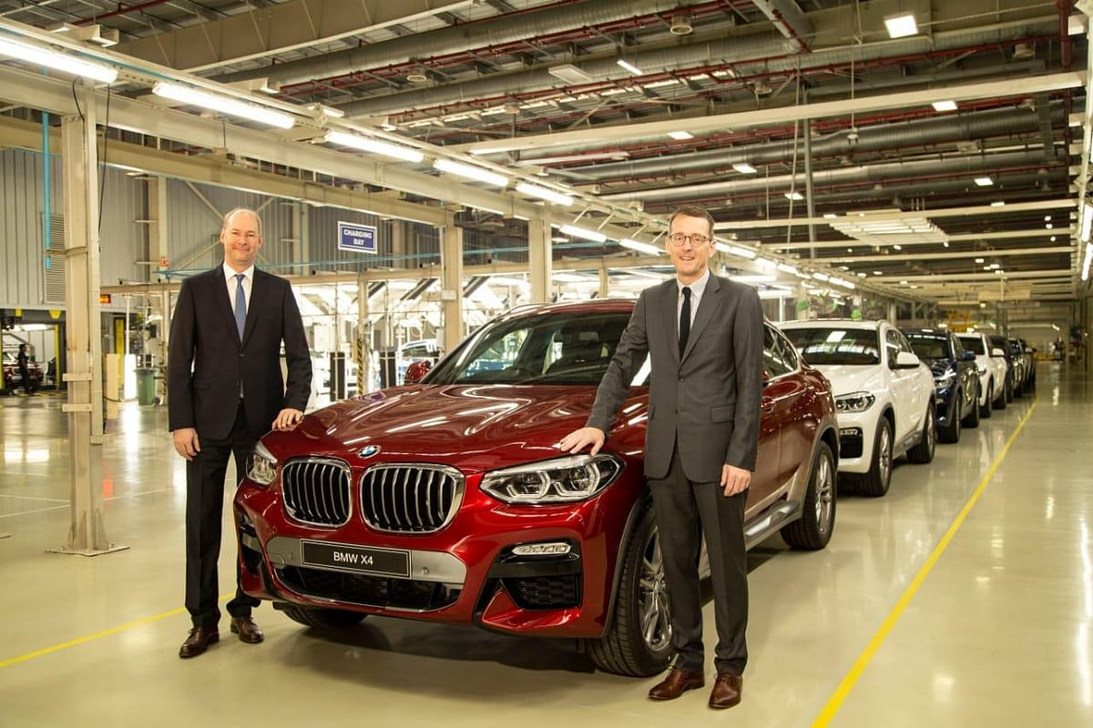 BMW launches locally produced X4 at Rs 60.60 lakh