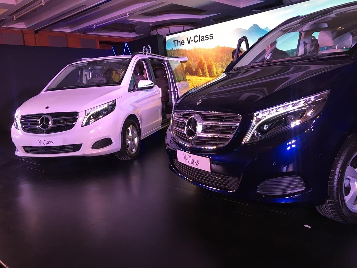 Mercedes-Benz V-Class launched in India at Rs 68.4 lakh