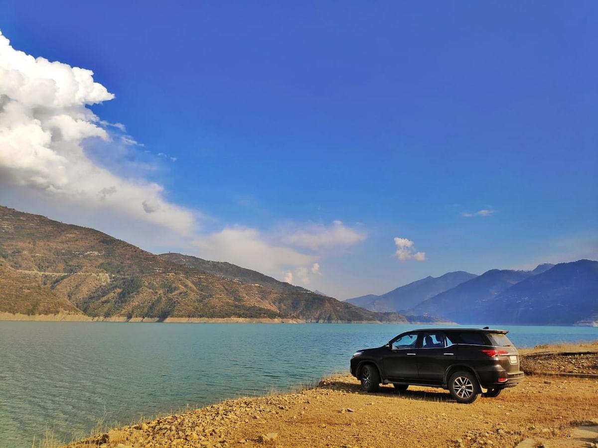 Driving the Toyota Fortuner to Devaprayag and Tehri Dam
