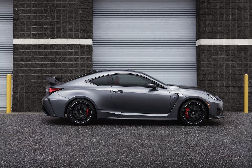 2019 Lexus RC F and RC F Track Edition unveiled at Detroit Auto Show