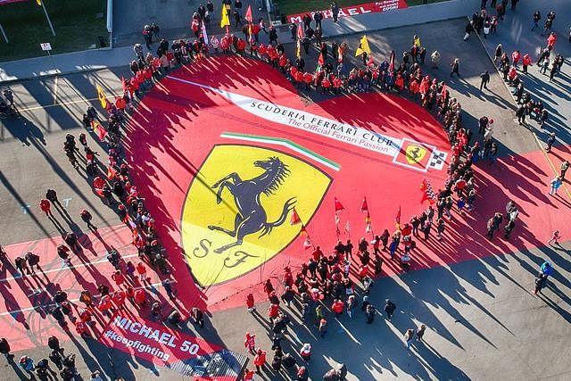 'Michael 50' exhibition at Ferrari Museum