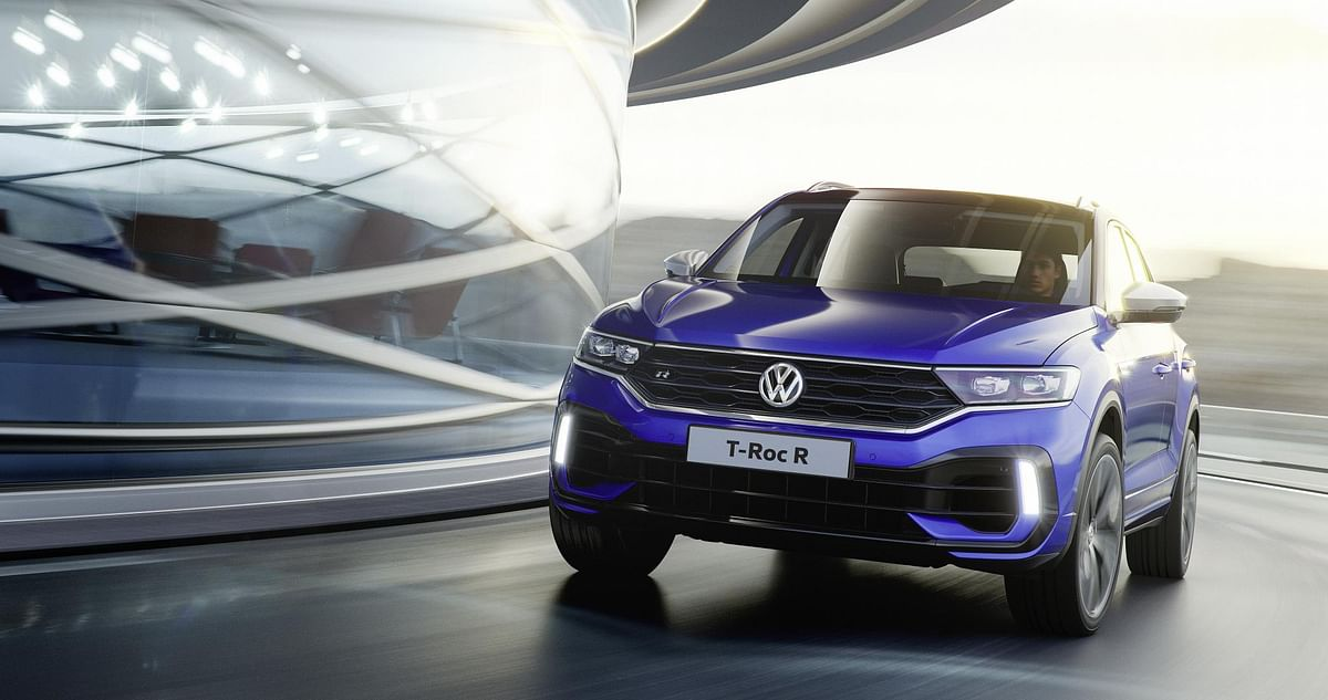 Volkswagen reveals the top-spec T-Roc R internationally