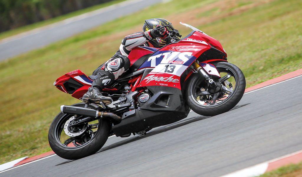 TVS Apache RR 310 – One make championship experience