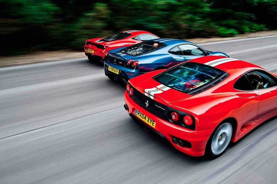 Three kings – Part one – Ferrari 360 CS
