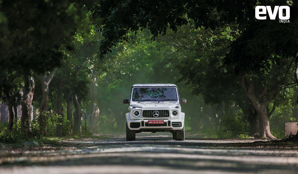 Nothing overpowers the road presence of the G-Wagen