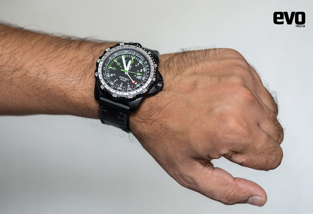 Tried and tested: Luminox Recon Series 8830 watch