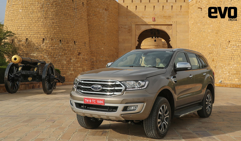2019 Ford Endeavour launched in India at Rs 28.19 Lakh