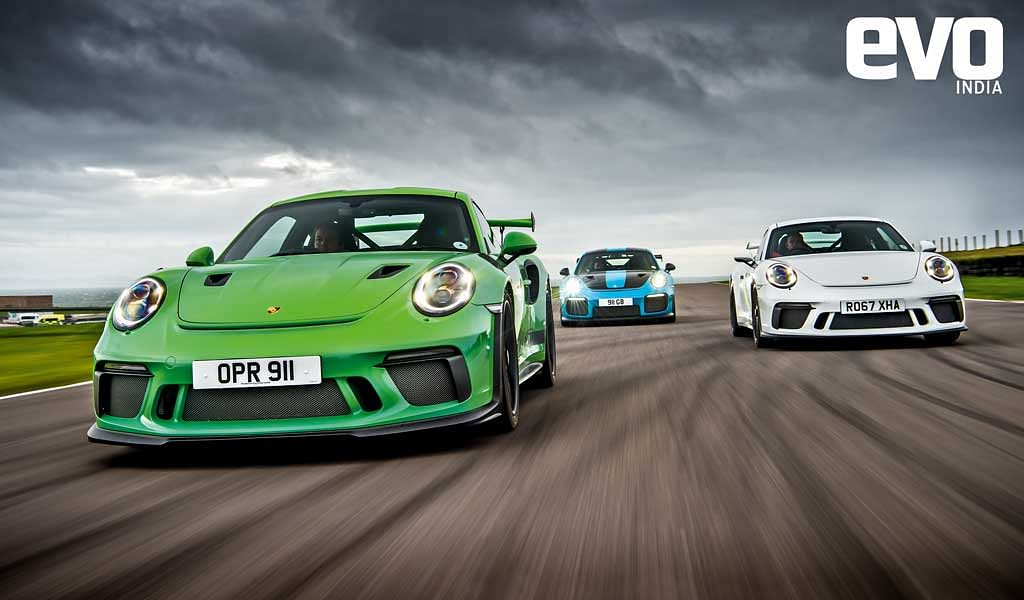 Porsche GT3 vs GT3RS vs GT2RS – Superfast but legal