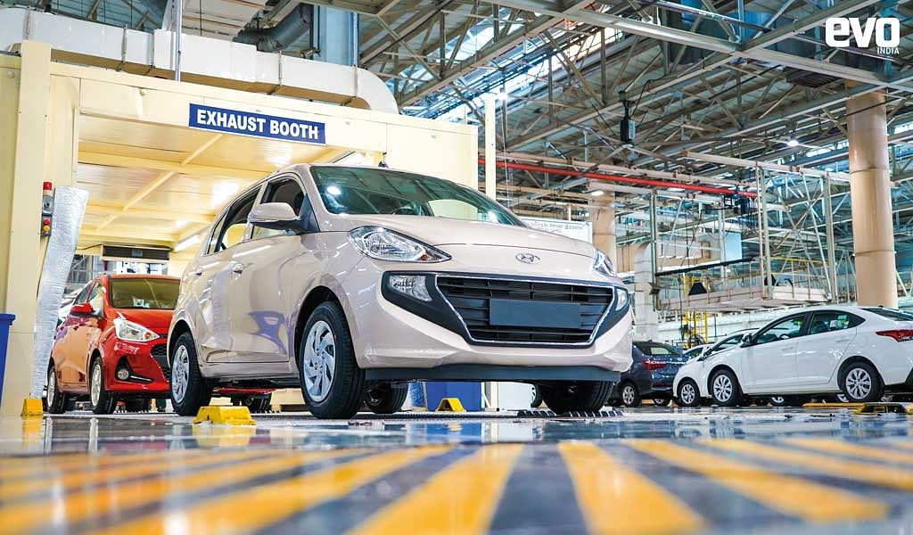 Making of the Hyundai Santro