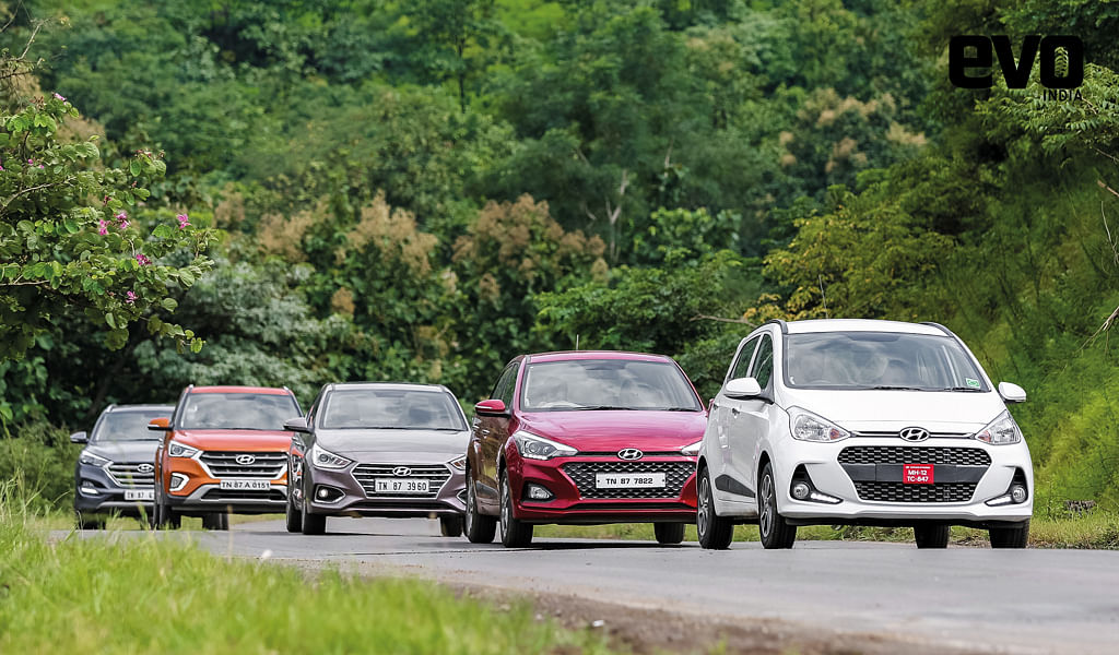 Hyundai on the fore: Twenty years of success in India