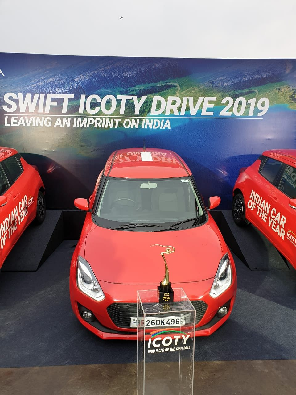 Maruti Suzuki Swift ICOTY drive to be flagged off tomorrow