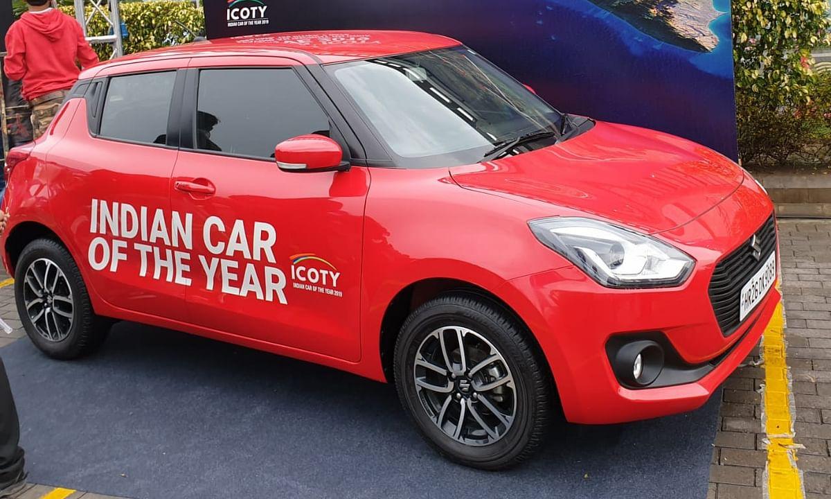 Maruti Suzuki Swift ICOTY drive to be flagged off tomorrow