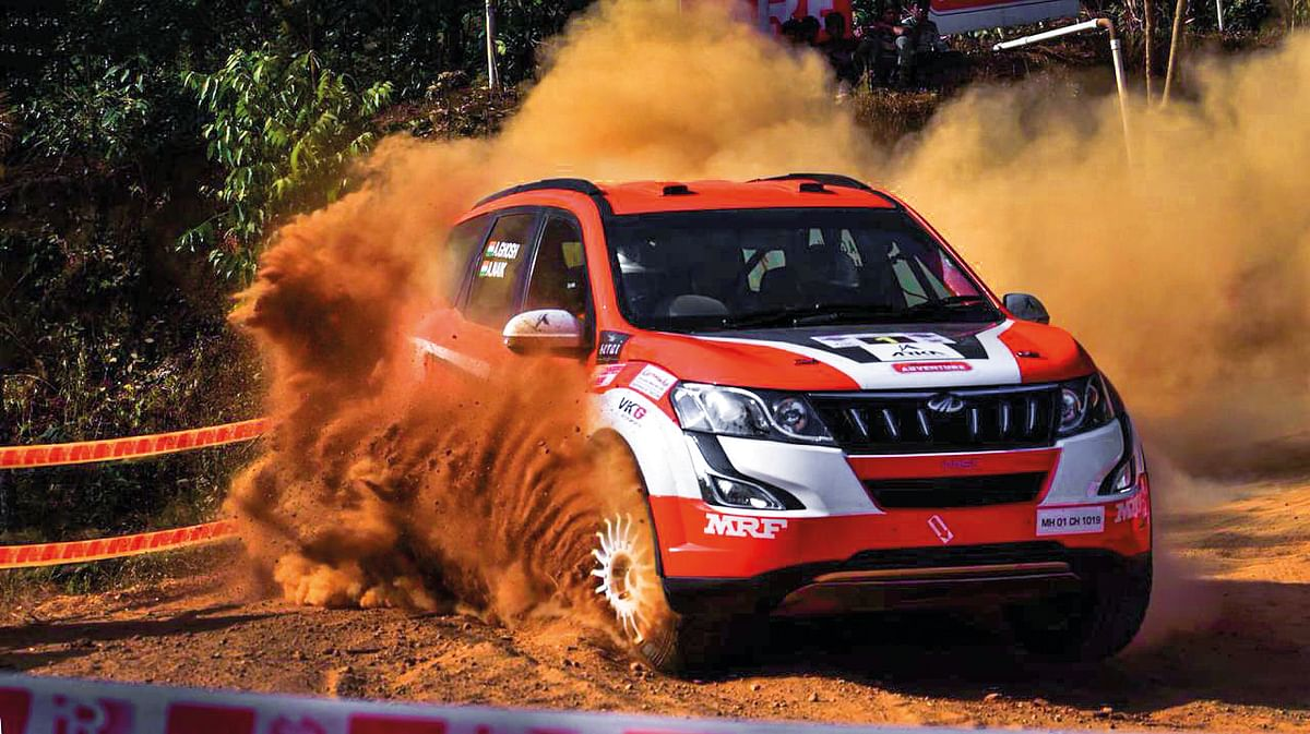 Bijoy's blog: The Mahindra Adventure rally team is on a roll