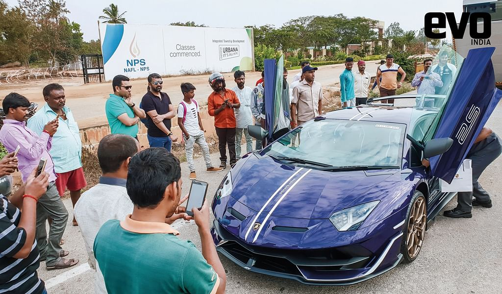 Exclusive! The first and only Lamborghini Aventador SVJ in India, Bren Garage Brentador