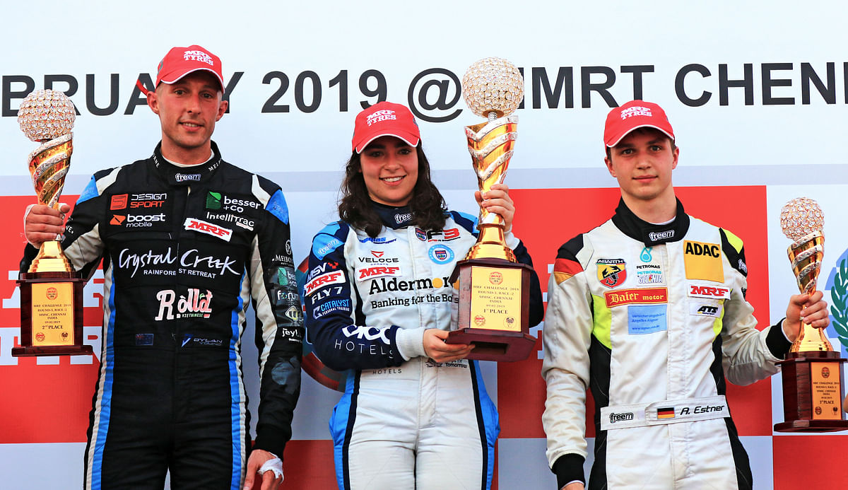 MRF Challenge Round 3 – Jamie Chadwick leads race-day one