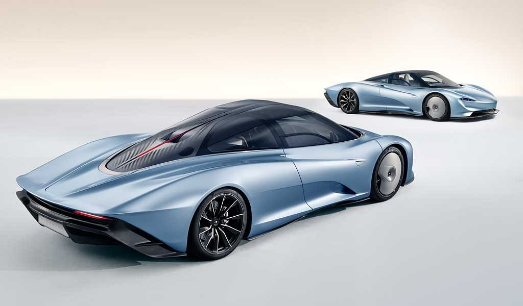 McLaren Speedtail – the replacement for the iconic F1