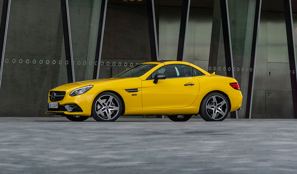 Mercedes-Benz bids adieu to the SLK with the SLC Final Edition