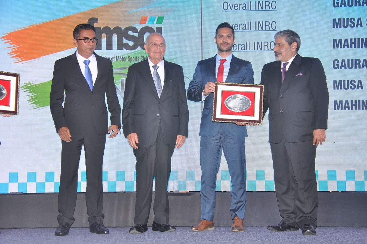 FMSCI Annual Awards: India's top motorsport performers felicitated