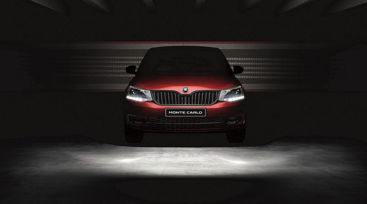 Skoda Rapid Monte Carlo reintroduces the Monte Carlo marque in India