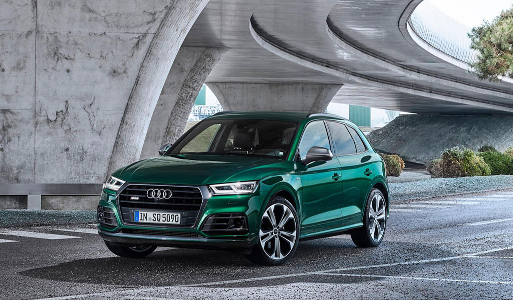 Updated Audi SQ7 showcased: Looks sharper, goes faster