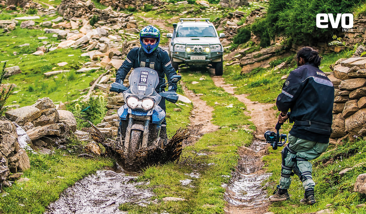 Exploring Spiti valley on a Triumph Tiger XRx