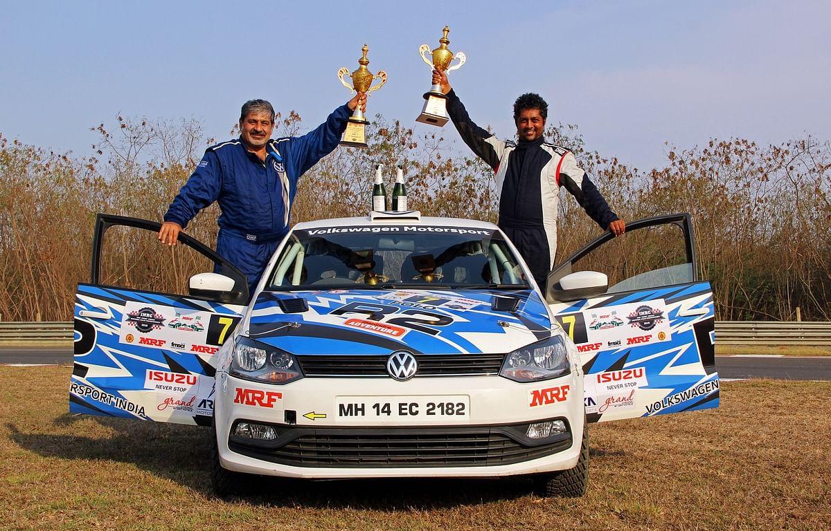 A successful INRC season for Volkswagen Motorsport India