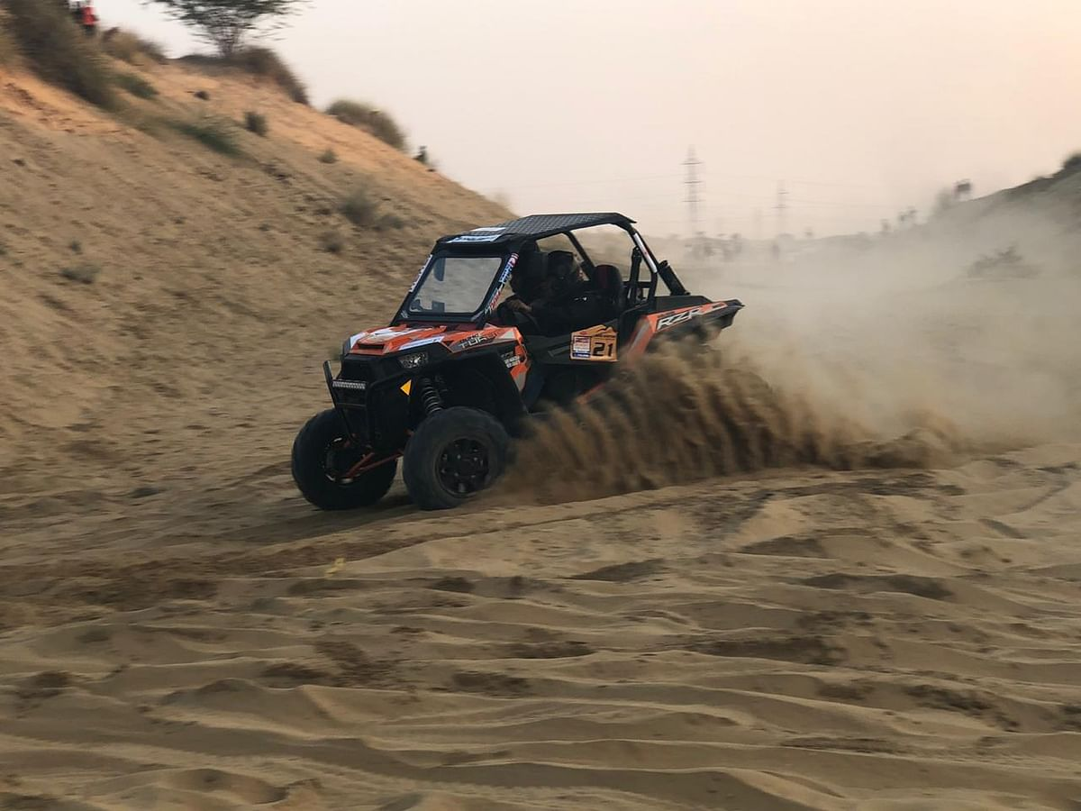Ultimate Desert Challenge 2019: Kabir Wairach dominates opening stages