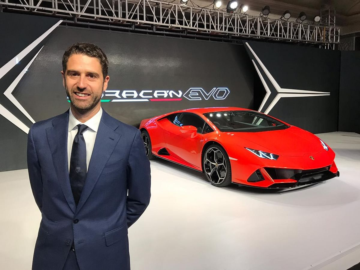 Interview with Sharad Agarwal, Head, Lamborghini India
