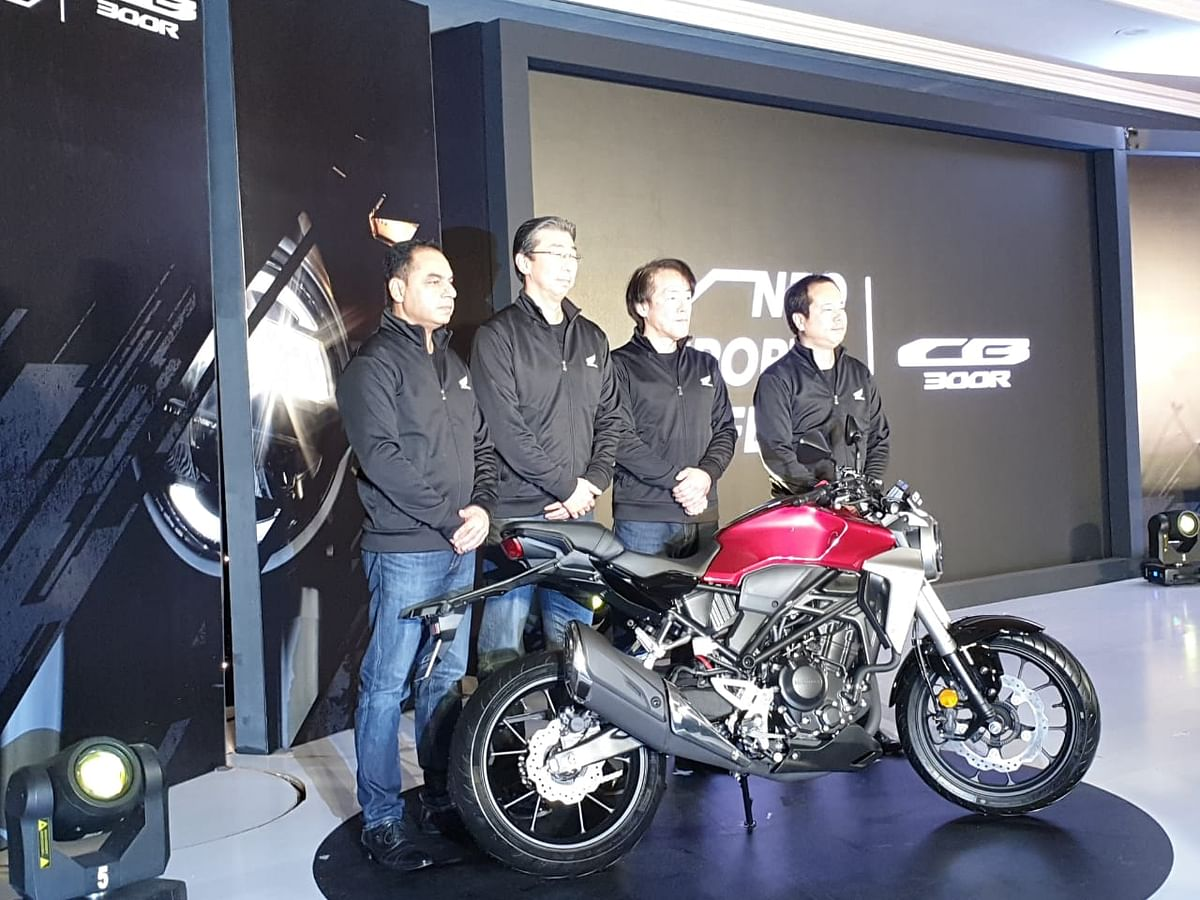 Honda launches the CB300R in India at Rs 2.41 lakh