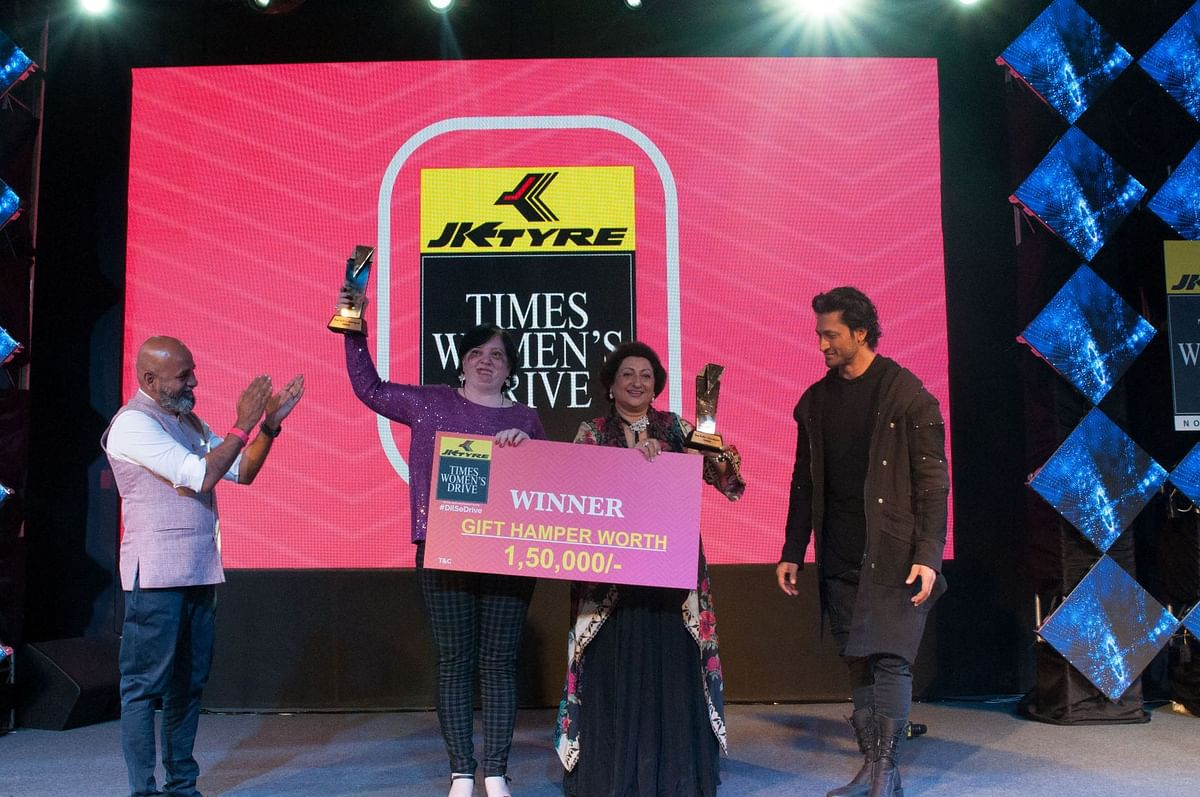 JK Tyre Times Women's Drive: Team Force wins the inaugural rally