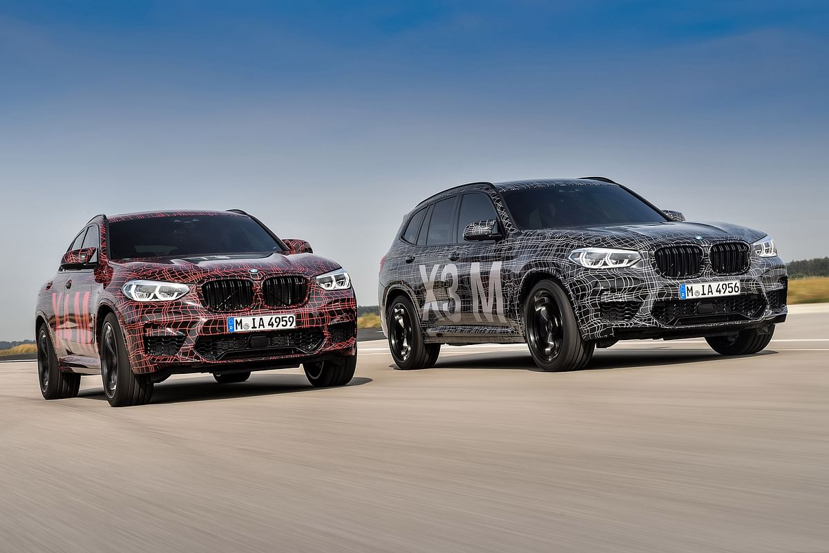 New BMW X3 M and X4 M teased – hot SUVs to rival AMG's GLC63