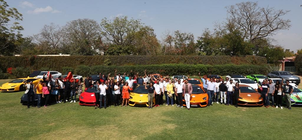 First ever Lamborghini day marks the brands ten years in Indian markets