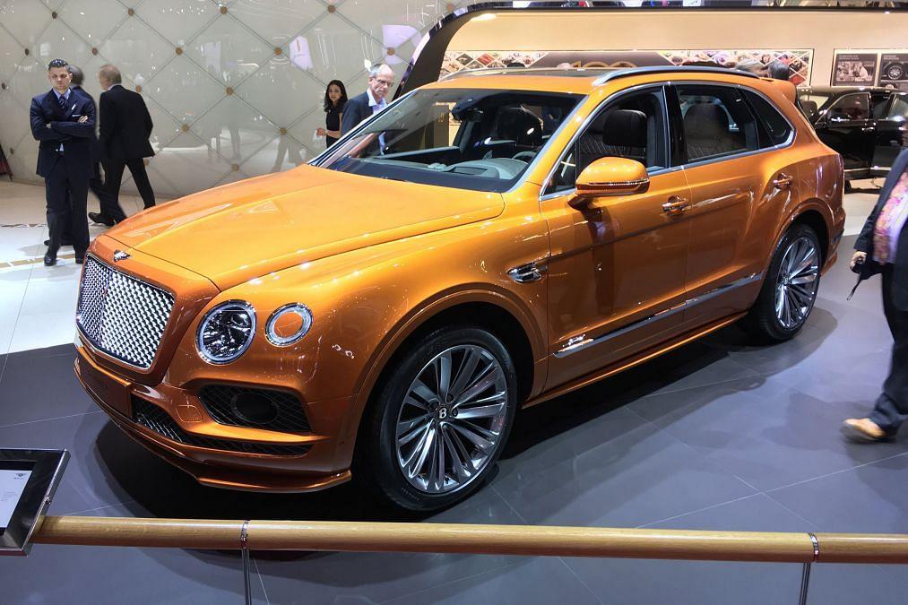 Bentley Bentayga Speed makes debut at Geneva
