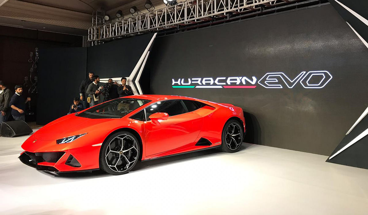 Lamborghini Huracan Evo launched in India at Rs 3.73 crore