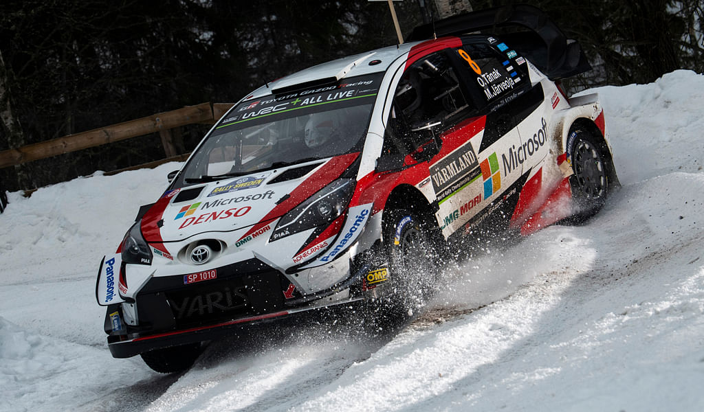 WRC Rally of Sweden 2019: Ott Tänak conquers snow