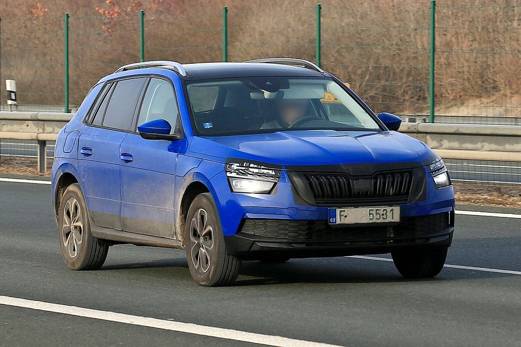 Skoda Kamiq spotted testing ahead of the Geneva Motor Show debut